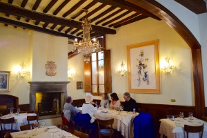 We found the best...Ristorante Fiorentino at via Luca Pacioli, 14.  Well appointed, fine service and delicious food.