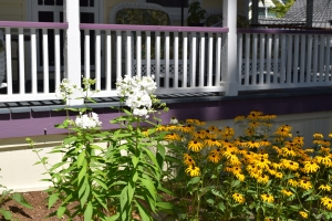 Gardens and railings are some of our favorites.