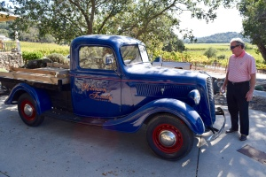 The 1937 truck is still used for work here and graces the front page of their web site too.